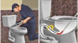 Tıkanan Gider Borusu Nasıl Açılır? (Mutfak/Tuvalet/Banyo)